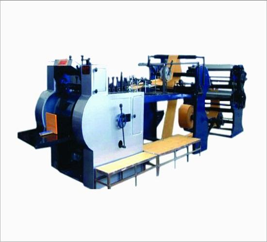 SENIOR make INDIAN Satchel Paper Bag Making Machine with Four Color Online Printing