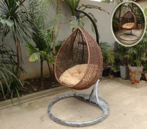 New Modern Design Swing cheap price from factory beautiful/ rattan furniture