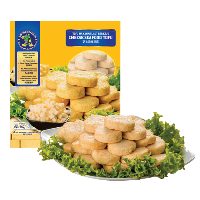 Low fat Cheese seafood Tofu Frozen