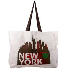 100% CANVAS TOTE BAG WITH BOTH SIDE PRINTING FOR UNISEX