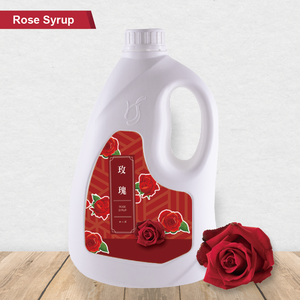 Hot selling Flower Flavor Syrup Rose Syrup for beverage ingredients