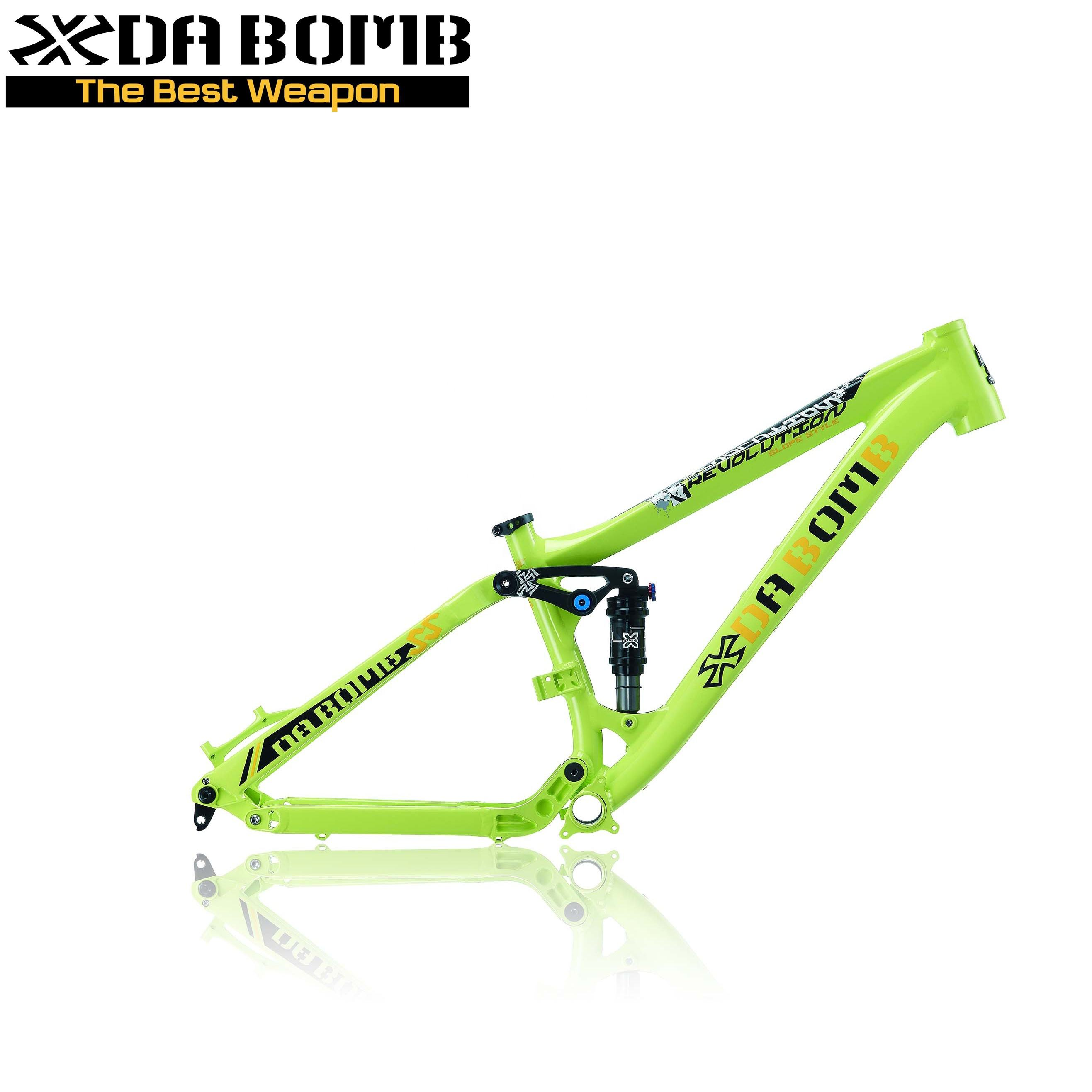 "DABOMB MTB 26"" Suspension Dirt Jump DJ Bike Frame"
