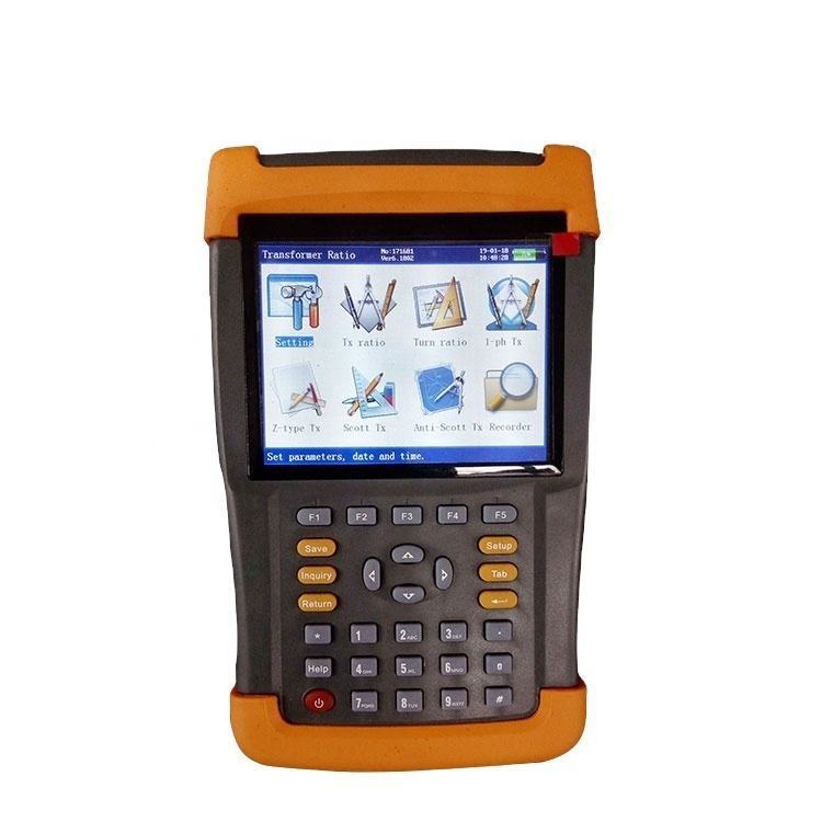3 phase multi-function handheld transformer turns ratio tester