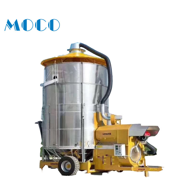 Free sample high quality large capacity mobile Grain dryer