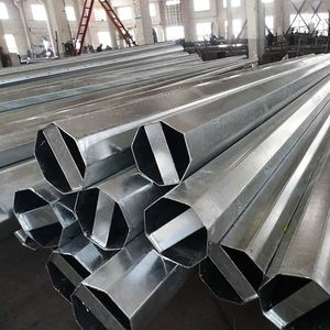 Line Transmission Self Supporting Stainless Steel Telecommunication Line Power Transmission Lattice Tower