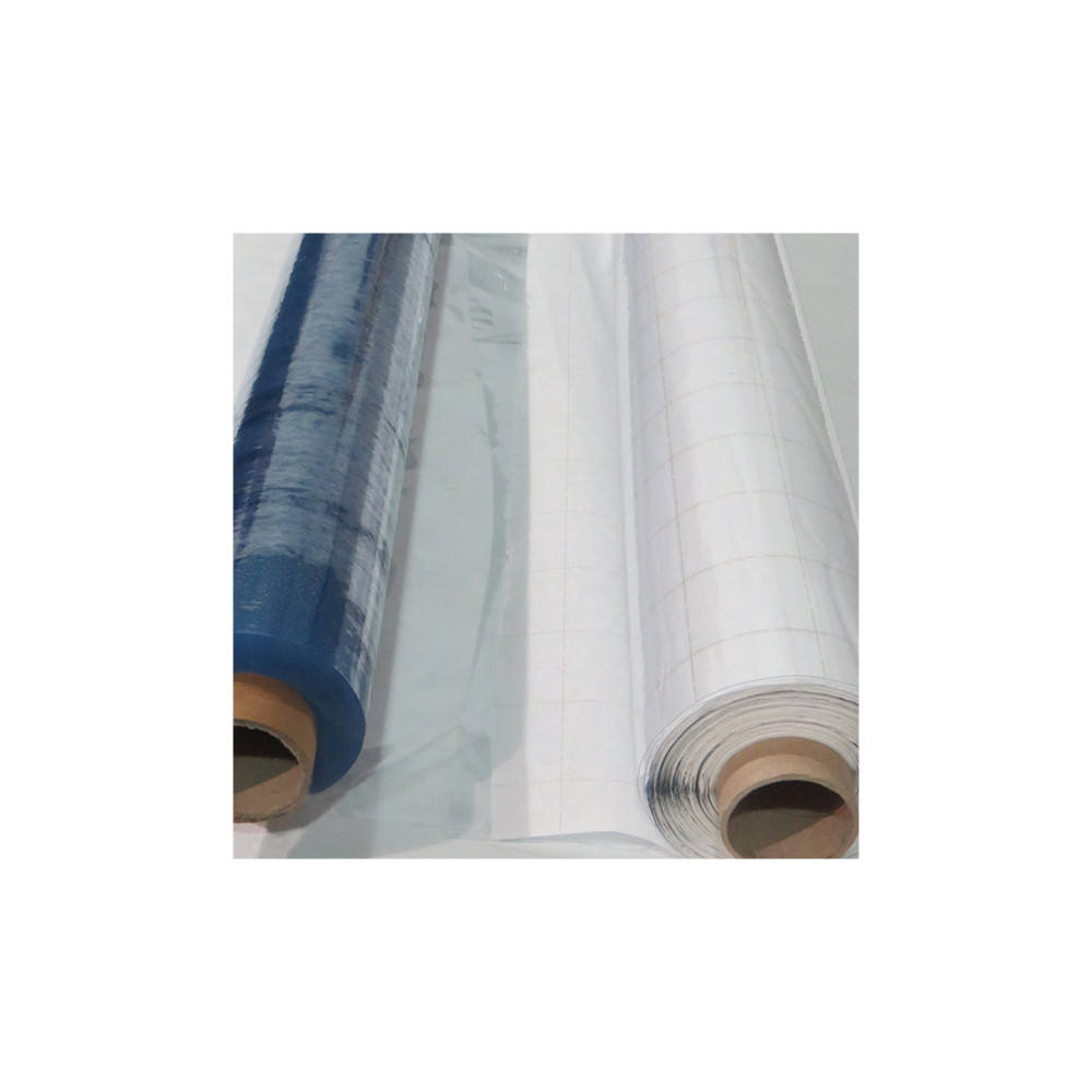 0,18 mm Transparent Sheet PVC Plastic Folie Film Rolls Quality