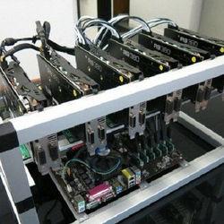 Free Shipping For New & Used Crypto Mining RIG GTX1080 x 6 Bitcoin