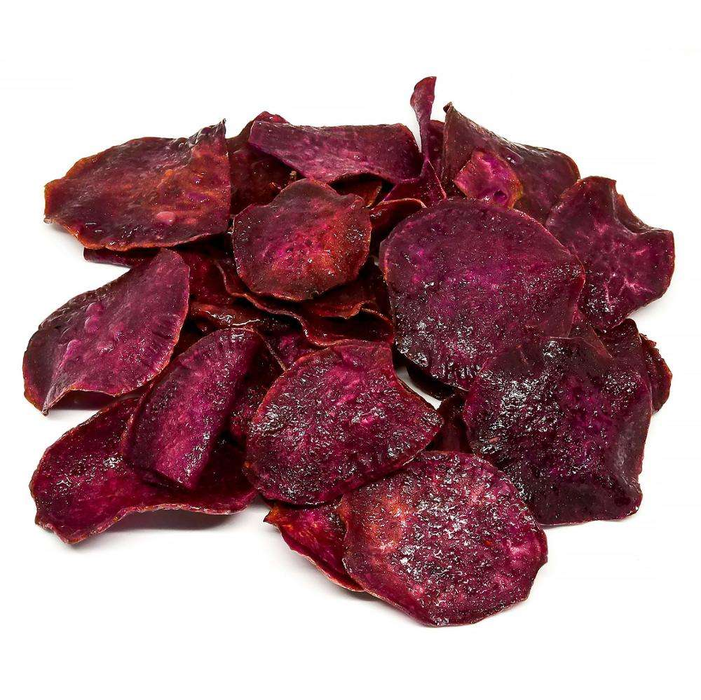 Best Seller of High Quality Snack Thai Purple Sweet Potato Chips from Thailand.