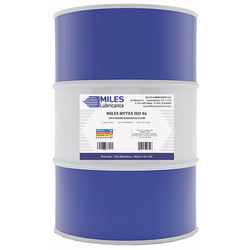 Hytex - 46 Low Viscosity Anti-Wear Hydraulic Fluid 55 Gal. Drum Miles Lubricants Motor Oil