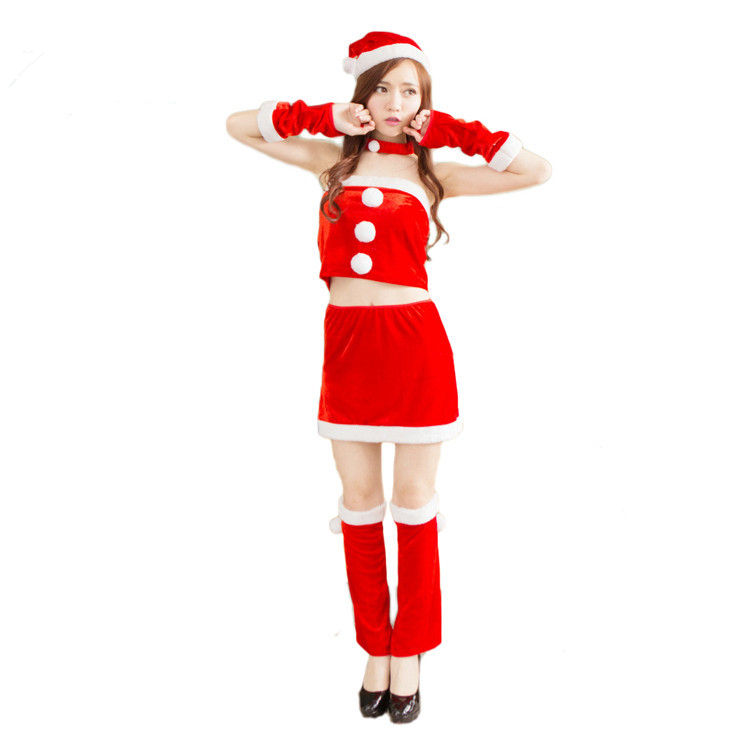 New Style Christmas Costumes Christmas Ball Costumes Festival Party Costumes
