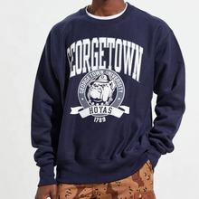 University Reverse Weave Crew Neck Sweatshirt / Hot Sale Sweatshirt