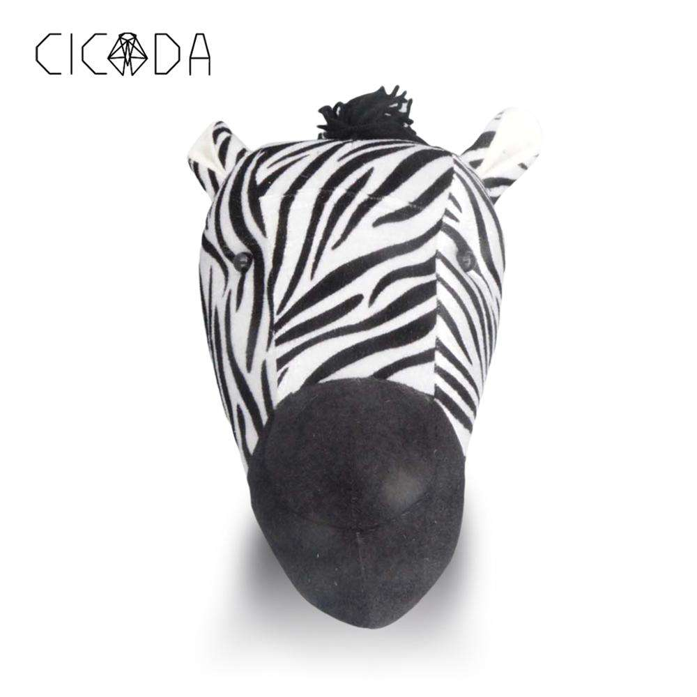 CICADA 2019 Newest Zebra Princess Doll Girl Baby Kid Gift Hanging Wall Decor
