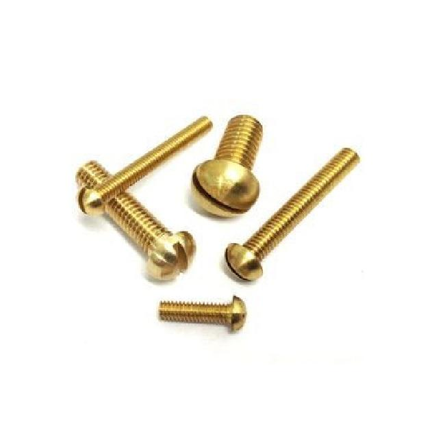 Screws Head Round Brass Plated Screws Cross Pan Head Round Head Self Tapping With Best Price