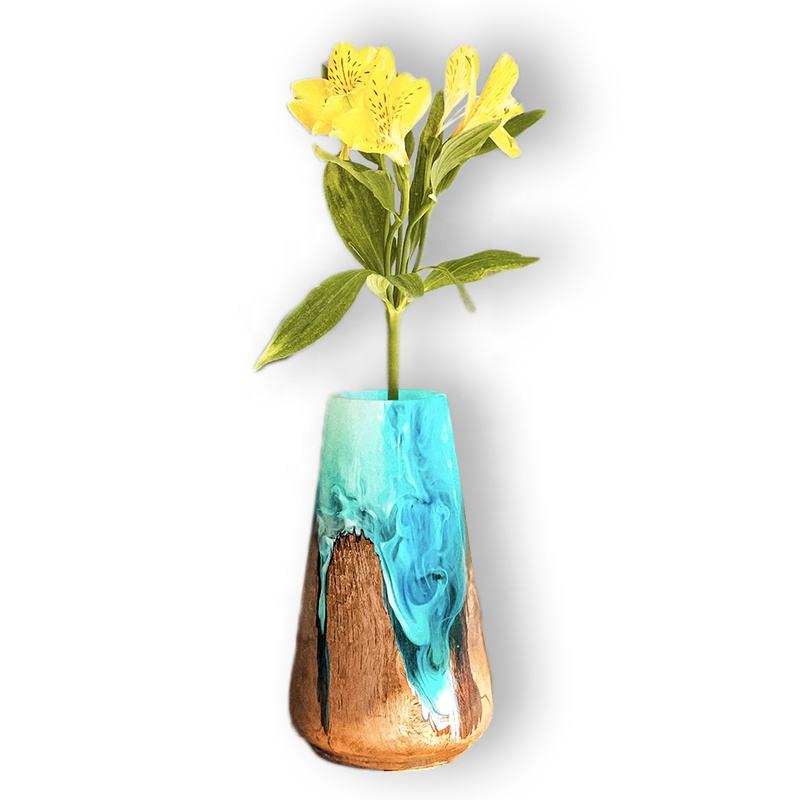 home decor vases decorative resin wood vase luxury design for home and office