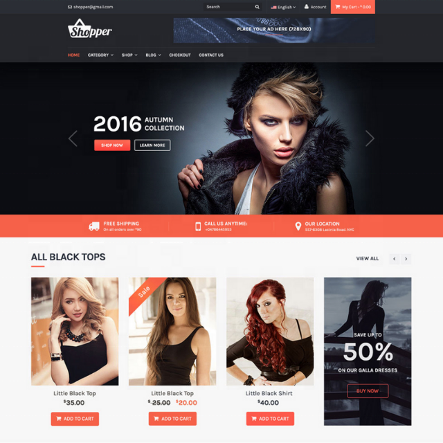 Online Shopping Website Design and Development with Word Press, Laravel, Shopify