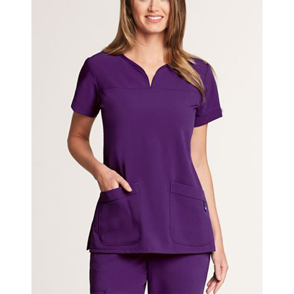 Wholesale Anatomy Short Sleeve Twill material Medical Uniforms Scrub Sets Dental Clinic Doctors Surgical Clothes