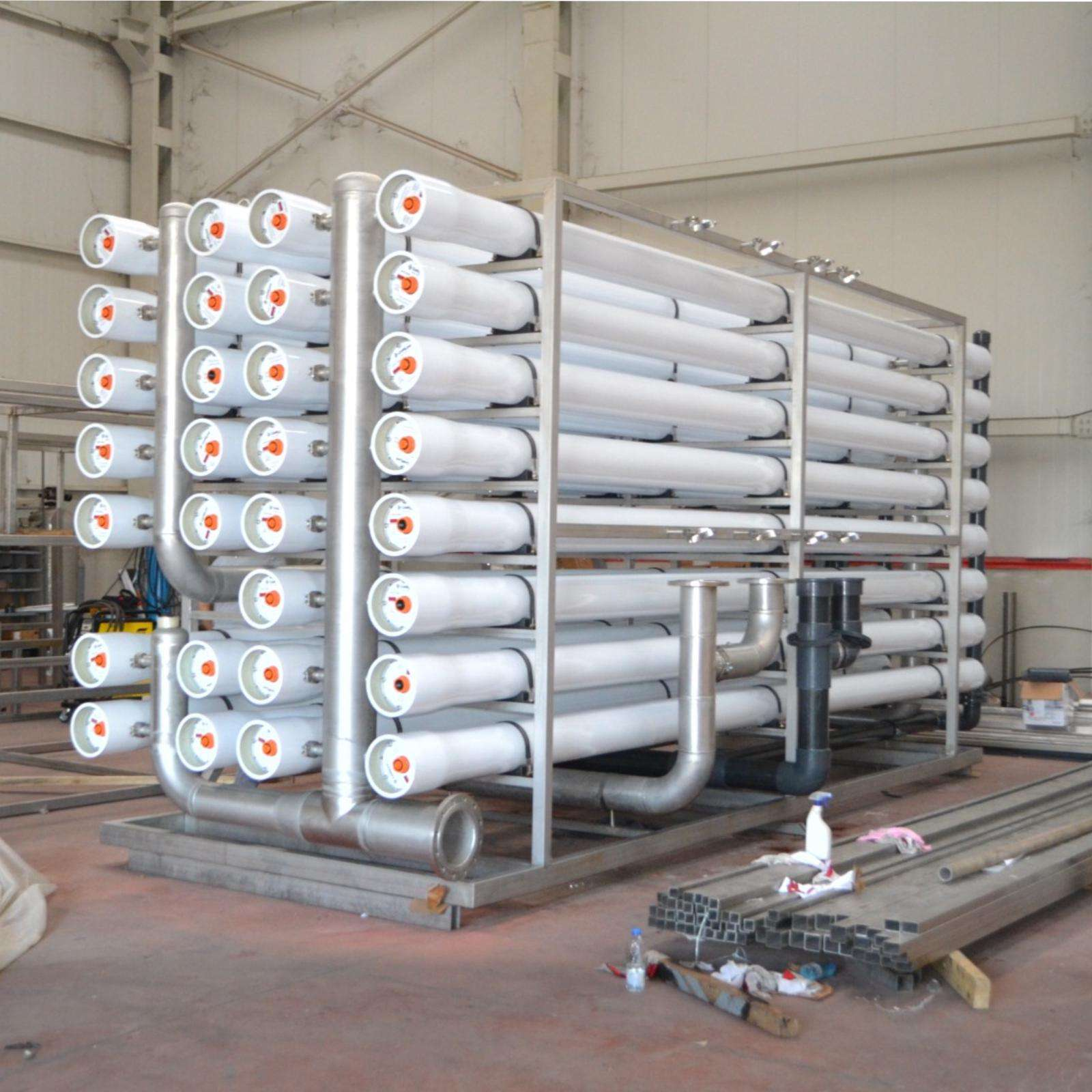 Reverse Osmosis System - R.O. Filtration System 60m3/hour