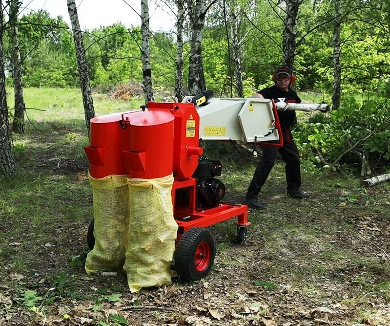 Wood chipper  gasoline garden chipper CE approved  pro wood chipper shredder ARPAL AM-120BD MAX