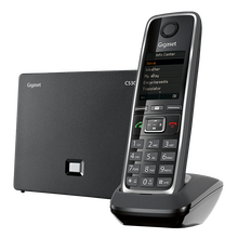 Cordless phone with 200 adress book entries and 300h in standby mode GIGASET C530 IP