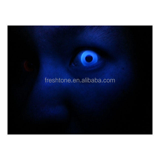 Wholesale crazy contact lens 14.5 mm FreshTone UV Glow Korean color contact lens