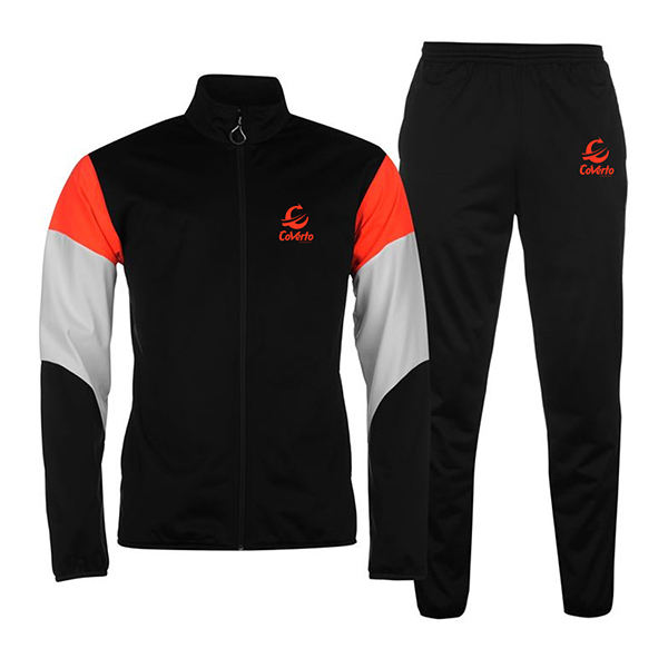 Men Fleece Outdoor Jogging Running and Training Polyester Sportswear Tracksuits Hooded Slim Fit Custom Design Plain Track Suits