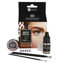 Private Label Brow Home Set Eyebrow Henna Tint 5 Capsules for Eyebrows
