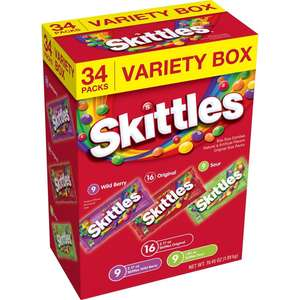 Skittles Candy Variety Pack
