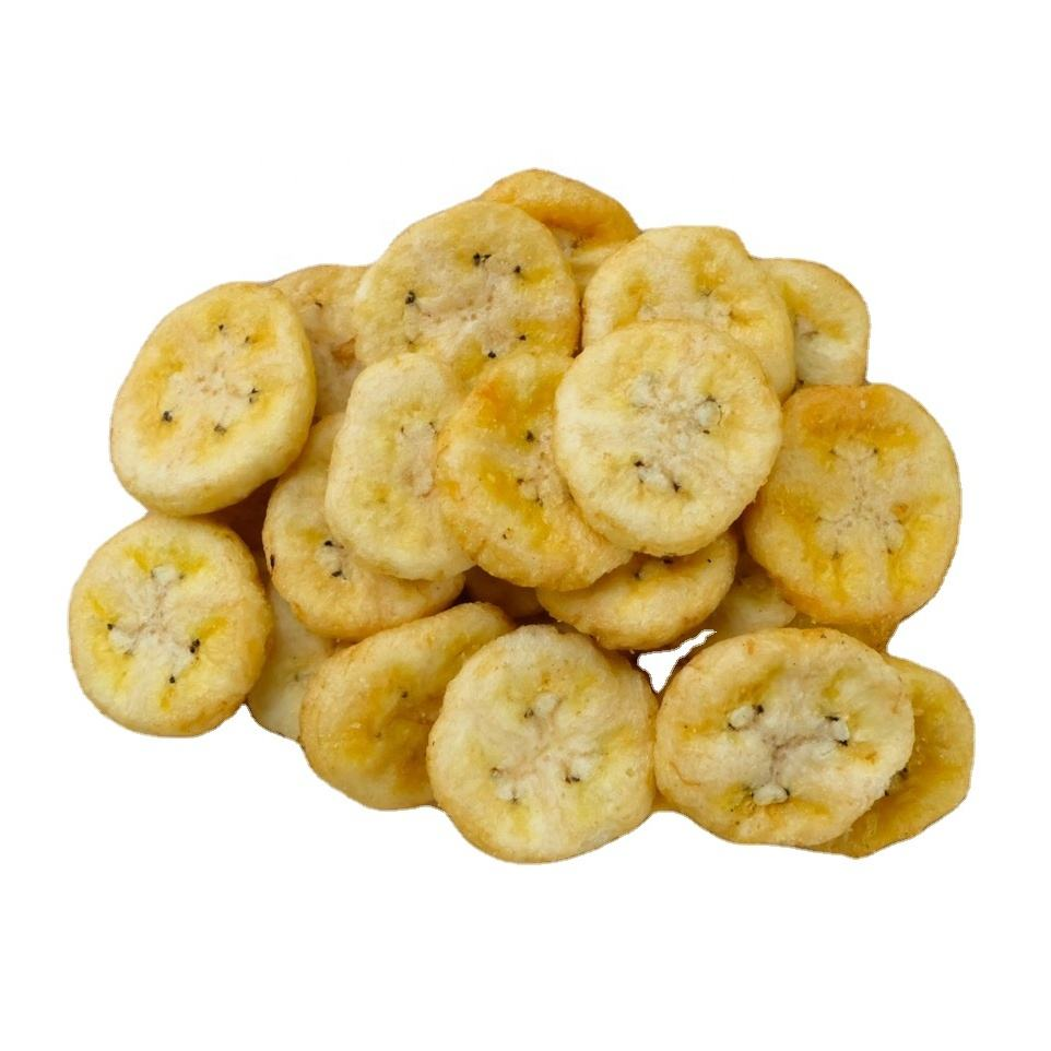 Premium from Thailand Preserved Dried Fruit Snacks Banana Chips