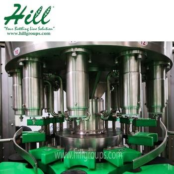 Automatic Glass bottle Filling Machine/glass bottle water filling machine/glass bottle cleaning and filling machine