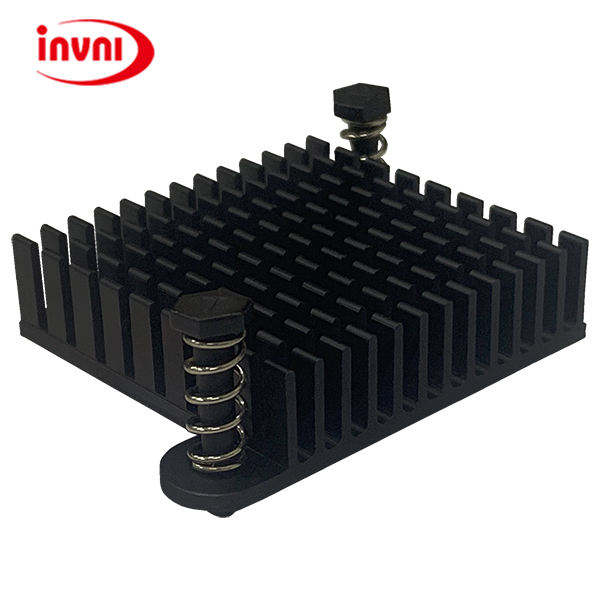 High Power Thermal Extrusion Anodizing Heat Sink (Black Color) for Heat exchanger (TEANN351035-013)