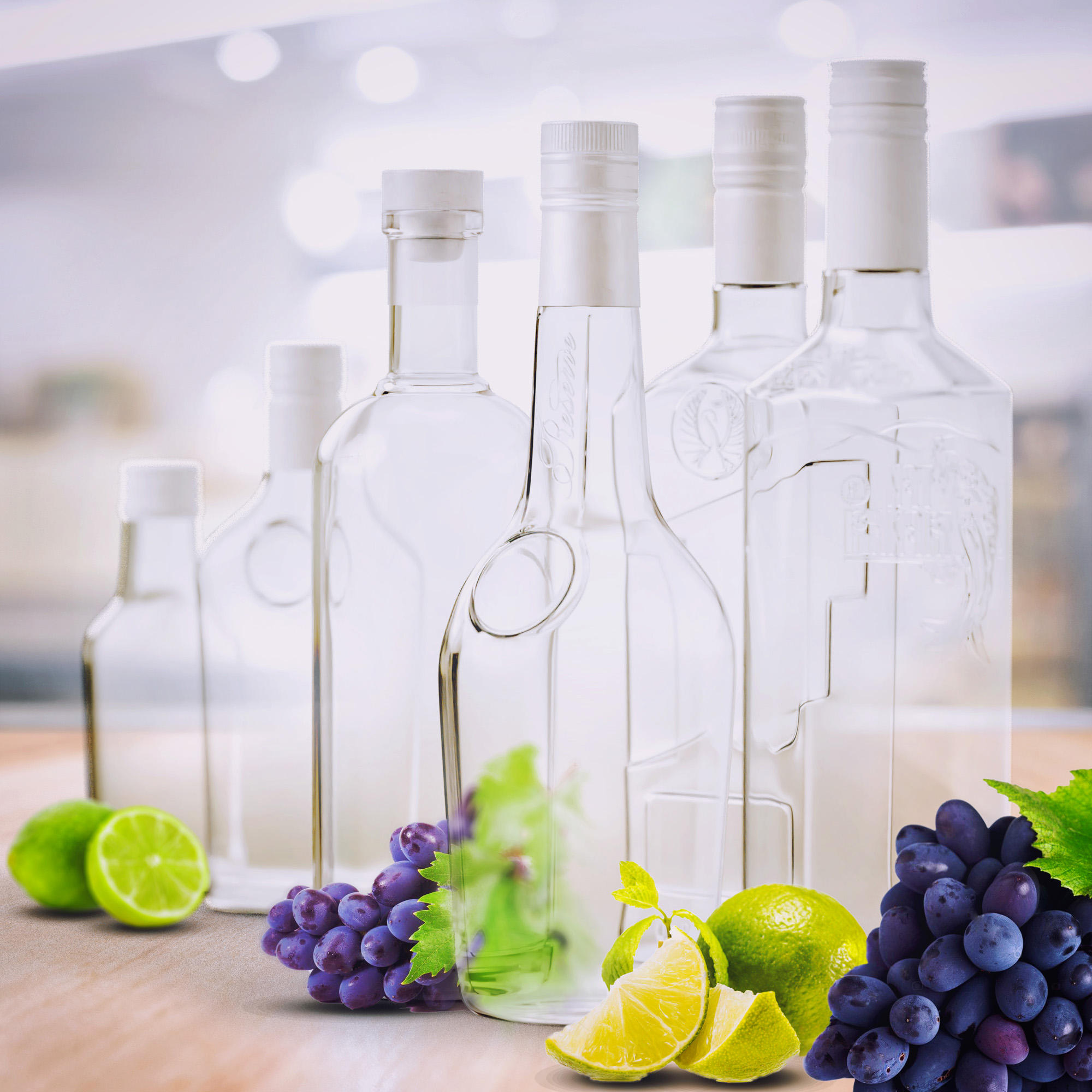 Private Label Natural Vodka 100/250/500/700/1000 ml