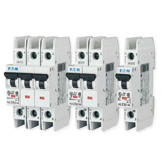 Eaton quality FAZ-C6/2NA 489 miniature circuit breakers