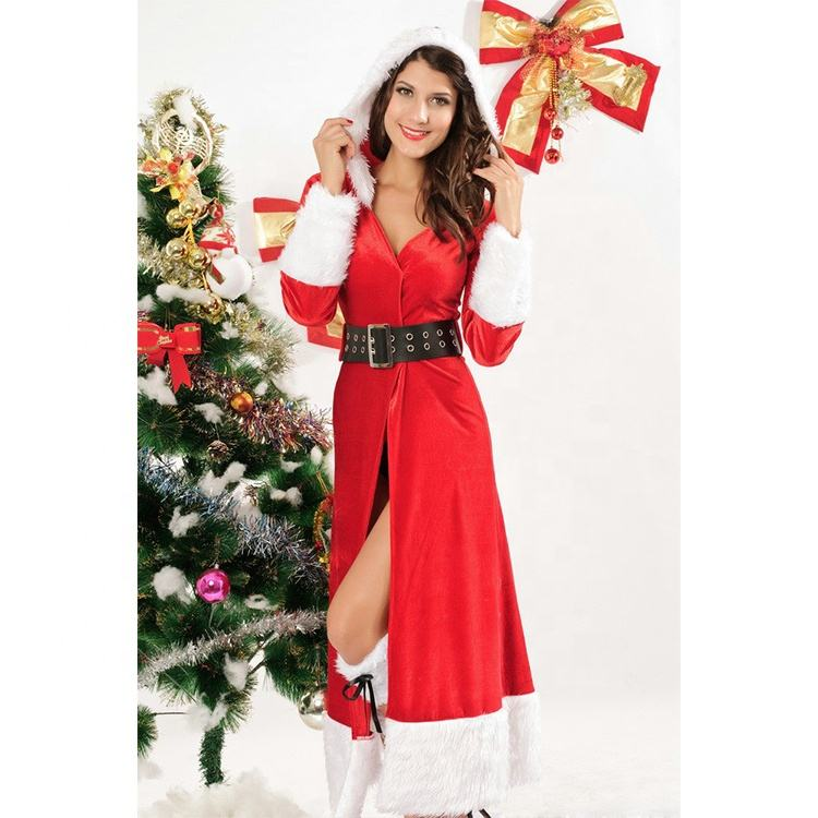HESSZ Sexy Christmas Winter Fantasy Costume