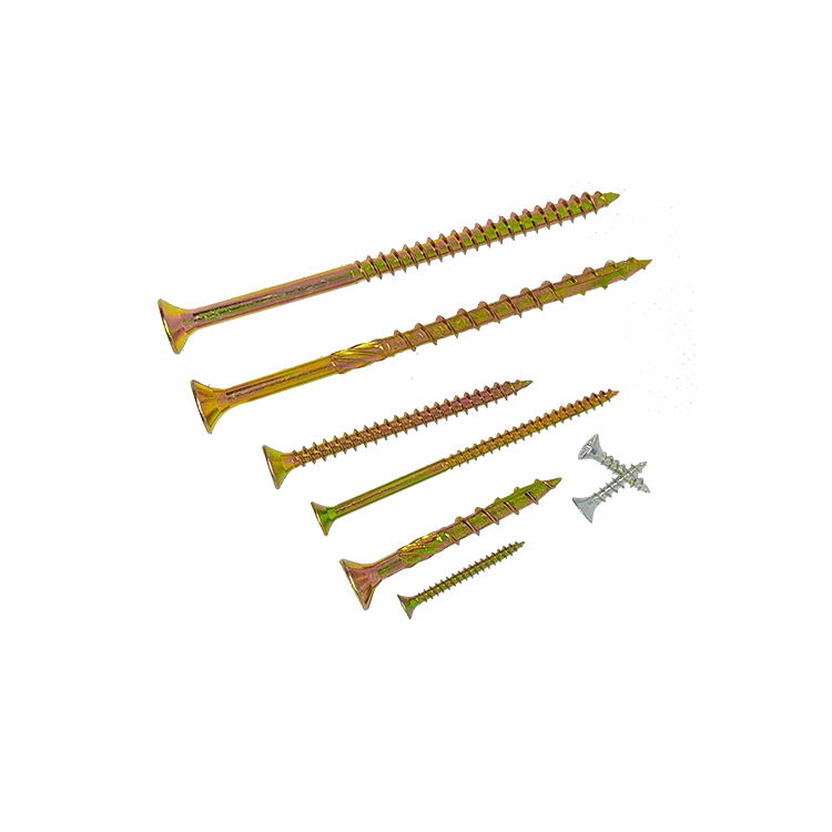 Yellow Gold Drywall Screw, Wood, Chipboard Screws