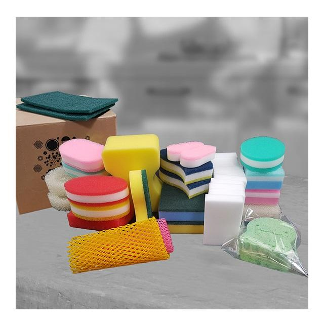 Quick Washing Scouring Pads Sponges & Scrubbers Package Made In Korea
