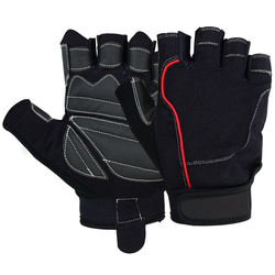 Half Finger Fitness Gloves Weight Lifting Gym GLOVES