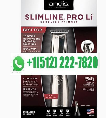 High Quality ANDIS SLIMLINE PRO LI T-BLADE CORDLESS TRIMMER