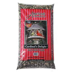 8LBS 50% America's Favorite Black Oil Sunflower Cardinal Delight Wild Bird Feed Formulated For Cardinals And Other Backyard Bird