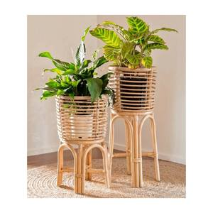 Hot Selling Home Decoration Rattan Planter Stand-Rattan, Wicker Stand Planter From Vietnam (Ms.Verda WS+84777699587)