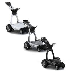 DISCOUNT DEAL New Stewart Golf X9 Follow Electric Cart with Remote control and extra Battery full accessories FREE CLEARANCE
