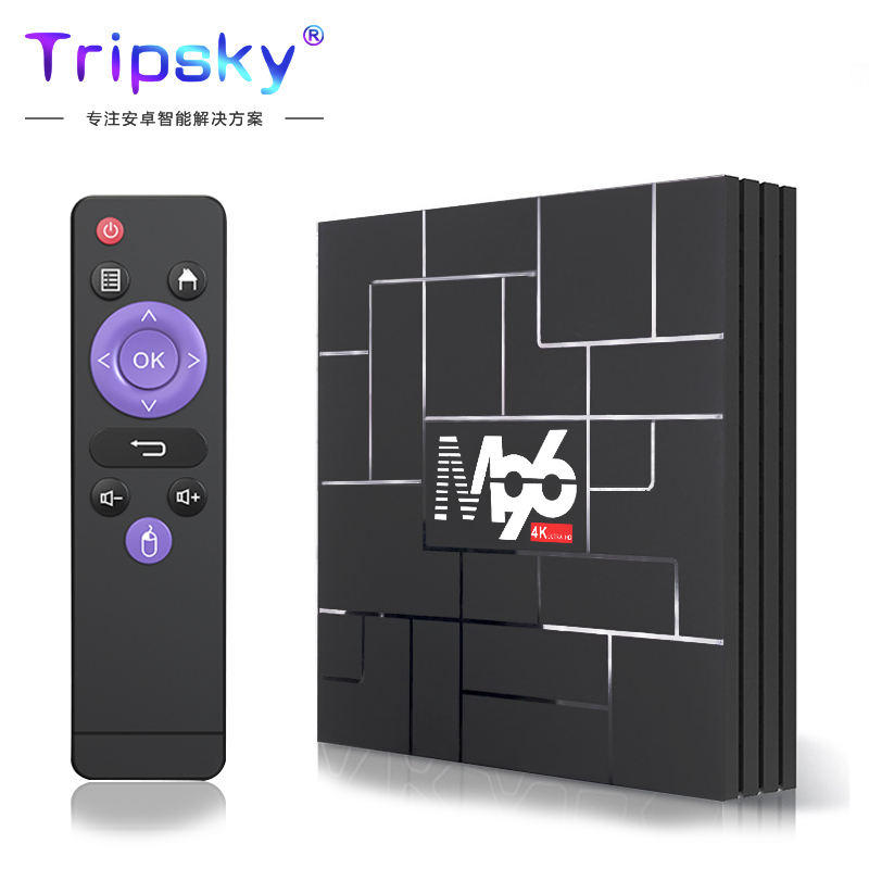 M96 4K Hd Box RK3318 4 Gb Ram 64 Gb Rom Android 9.0 Smart Tv Box Android