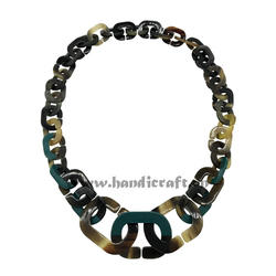 Fashion New Design buffalo horn necklace HD10806