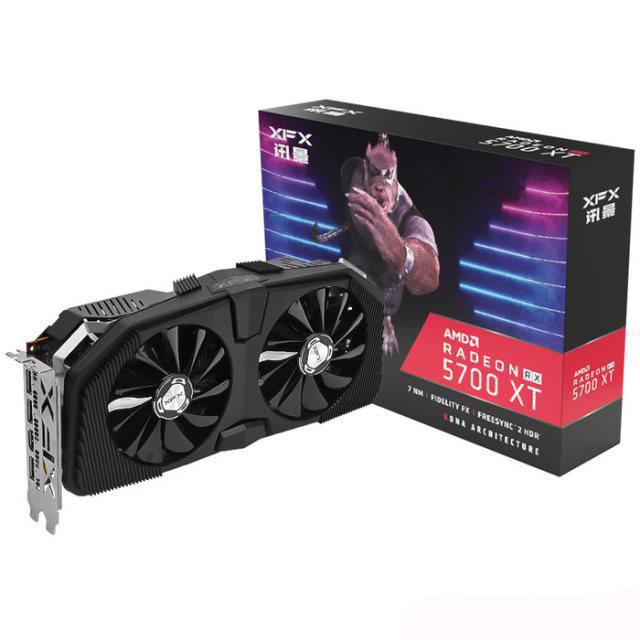 Discount For NEW XFX AMD RadeonS RX 5700 XT 8GB GDDR6 PCI Express 4.0 Video Graphics Card
