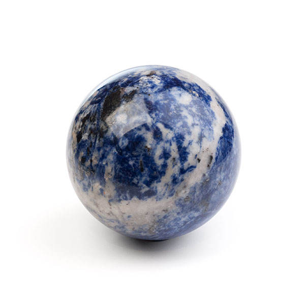 NATURAL HIGHLY POLISHED BALL (SPHERE) OF SODALITE IN ANY SIZE FOR SALE