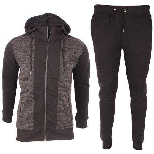 Tracksuit for men Set Fleece Hoodie Full Top Bottoms Jogging Joggers mens tracksuit