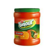 Bonjour Orange Instant Powder Drink 2500 gr Plastic Can
