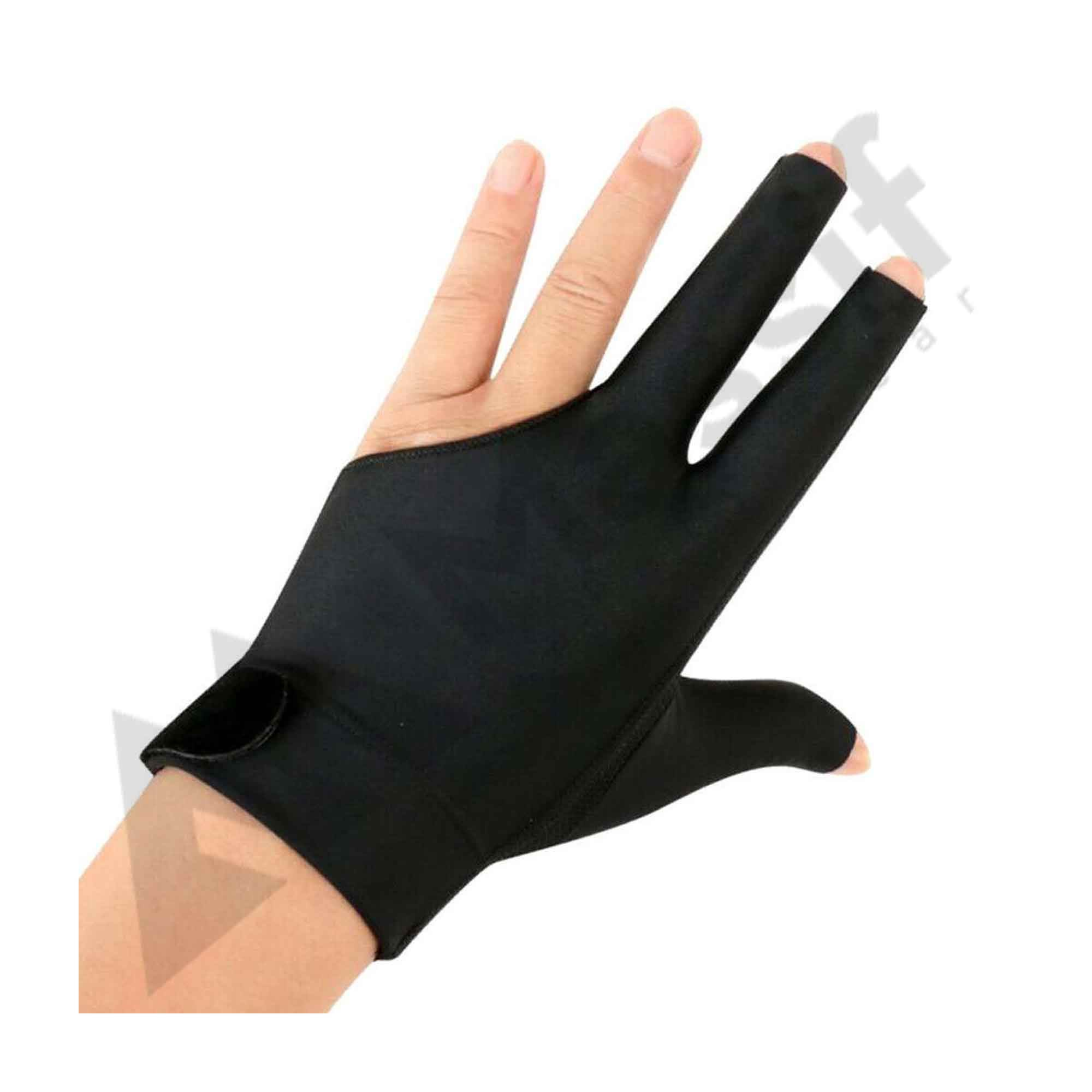 Fingerless Billiards -Glove Professional Billiard Accessories in Different Colors