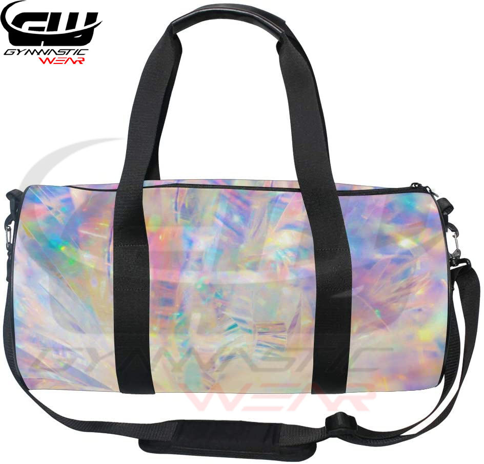 Unisex Holo graphic Irides cent Gym Sport Team Reisetasche von Top Carpenter BY GYMNASTIC WEAR