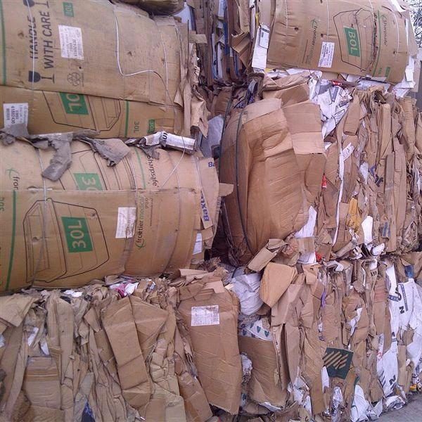 Top Quality PAPER OCC (OLD CORRUGATED CARDBOARD) BALES SCRAP / WASTE