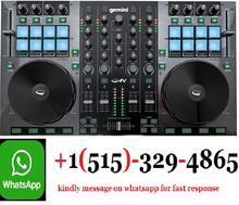 Business Service!!!!GeminiS GV Series G4V Professional Audio 4-Channel MIDI Mappable Virtual DJ Controller